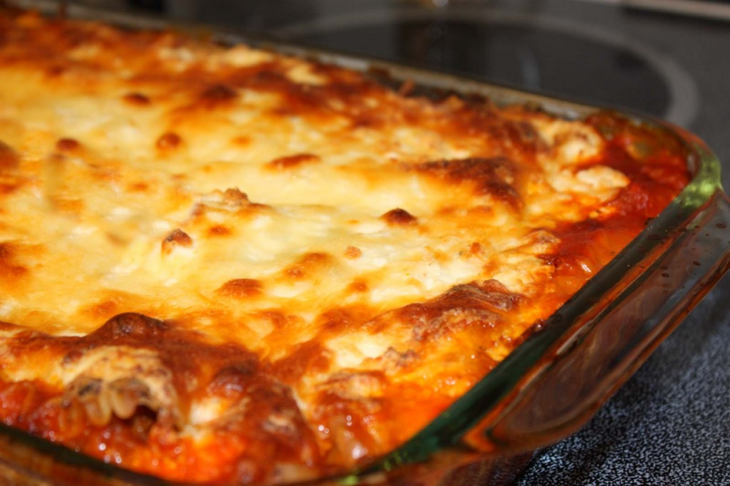 Easy Lasagna With No Boil Noodles Sezen