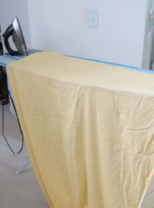 Ironing backing fabric