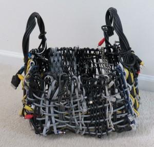 Woven Cord Basket (B) - by Sarah Franzen