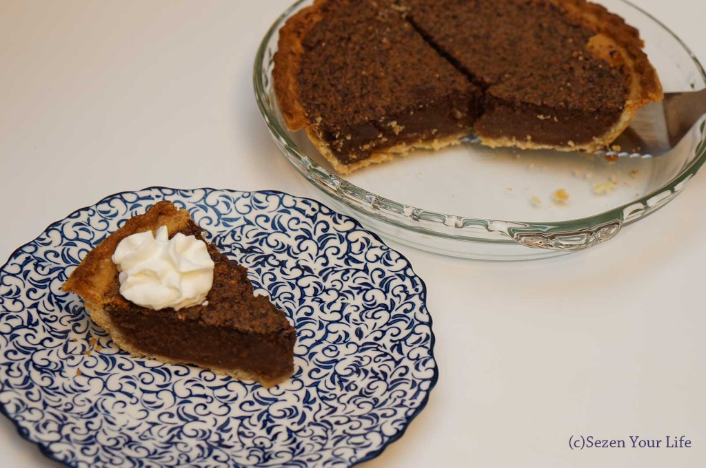 Plated Fudge Pie