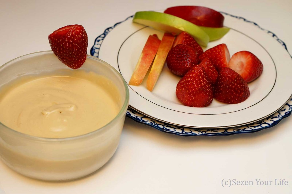 Fruit Dip with Fruit