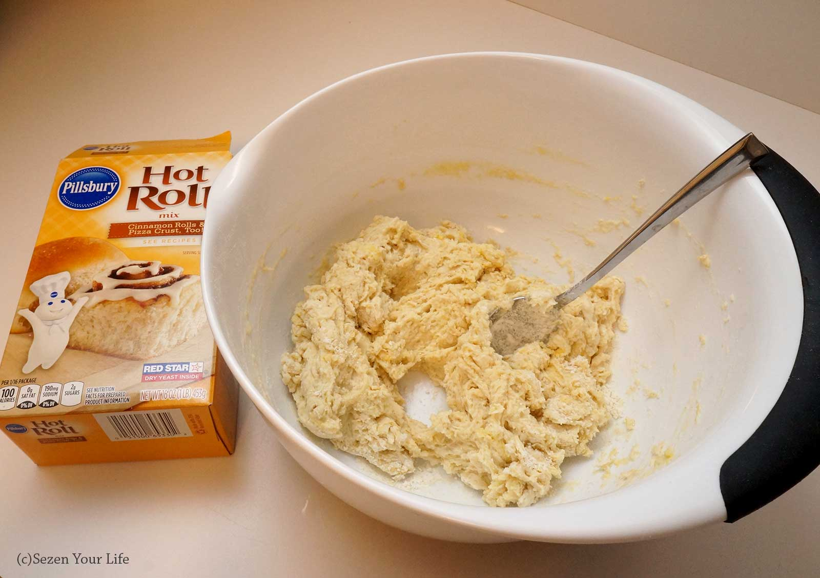 Pillsbury Hot Roll Mix by Sarah Franzen