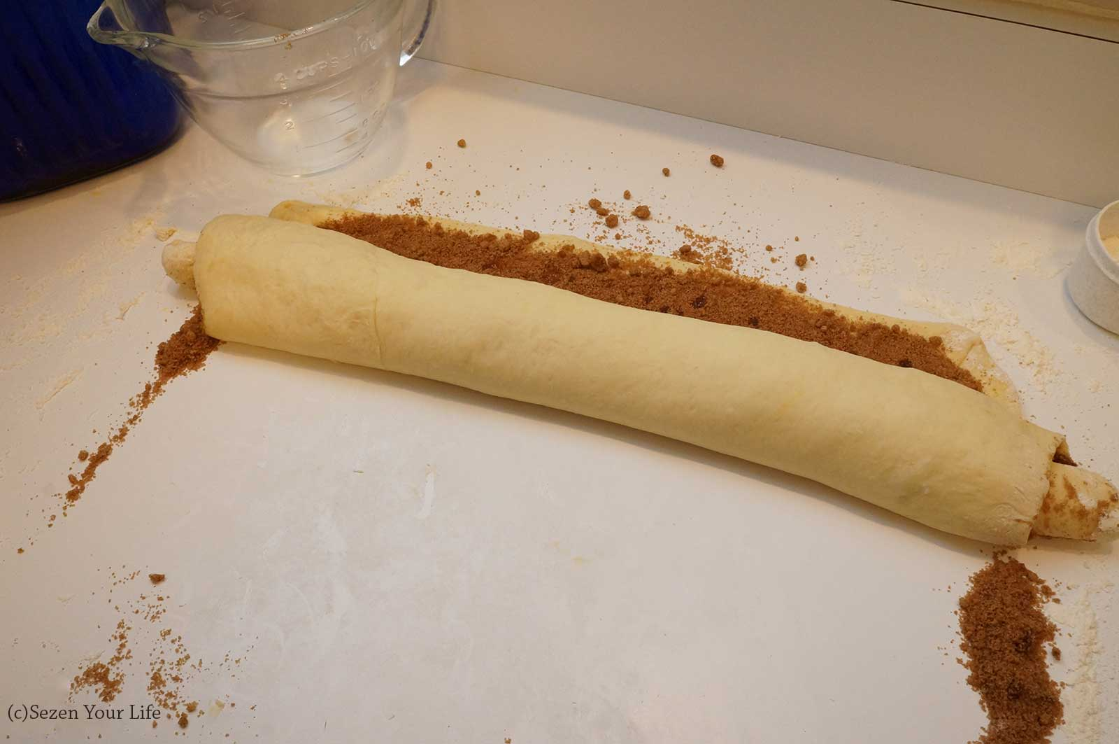 Rolling Cinnamon Rolls by Sarah Franzen